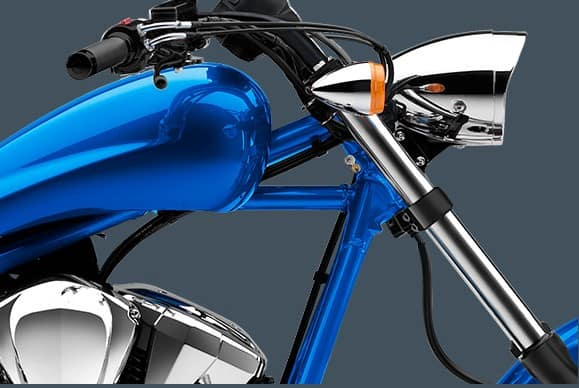 Honda Fury Ultra Blue Metallic