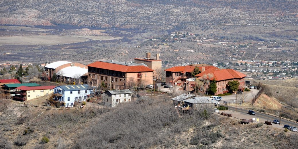 Ghost Town Jerome Arizona View