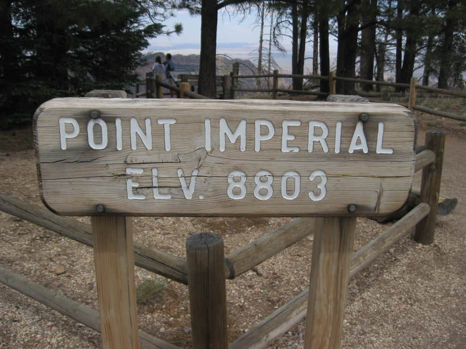 Point Imperial - Motorcycle Ride North Rim