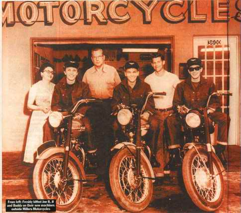 Buddy Holly Crickets Triumph Motorcycles